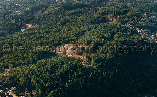 "Aerials over ""The Ridge"""