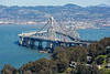The New Bay Bridge, currently under construction.  Oakland, CA.  7712