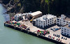 US Coast Guard Building #6, which looks like a repair facility for navigational aides.  Yerba Buena Island, CA.  7699