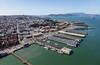 San Francisco waterfront.   3142