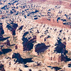 Chocolate Drops formation and the Maze District - Canyonlands National Park, Utah