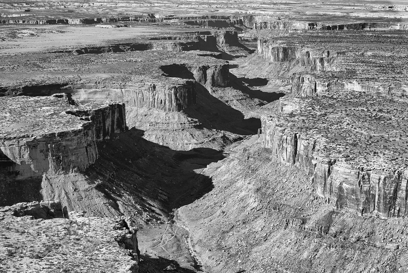 Mineral Canyon - Just Northwest of Canyonlands National Park, Utah