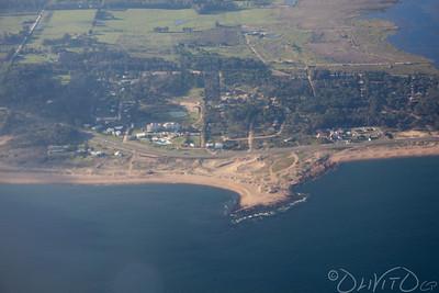 Coastline of Punta