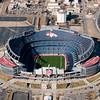 Denver Bronco Stadium<br /> Tilt Shift - Miniature Stadium<br /> Denver, Colorado
