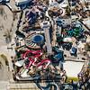 Elitch Gardens Aerial Photograph<br /> Denver, Colorado