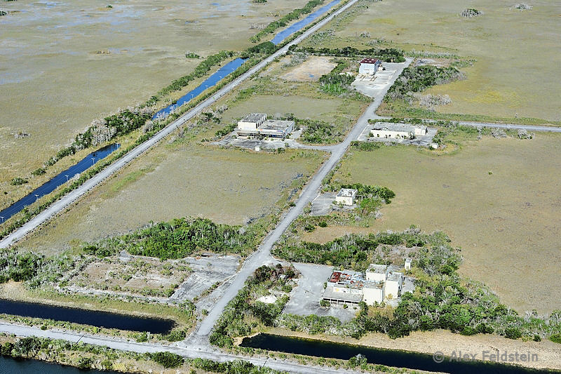 Abandoned Aerojet rocket facility, deep in the Everglades.