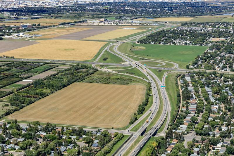 Circle Drive & College Drive Aerial