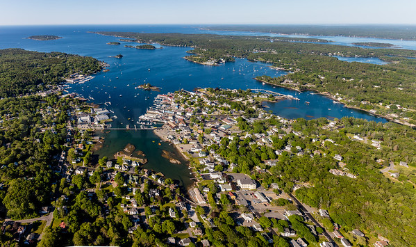 MIP AERIAL MEGA PANO 4 BOOTHBAY HARBOR MAINE-