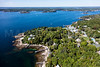 MIP AERIAL SPRUCE POINT BOOTHBAY HARBOR MAINE-6662