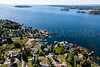 MIP AERIAL SPRUCE POINT BOOTHBAY HARBOR MAINE-6614