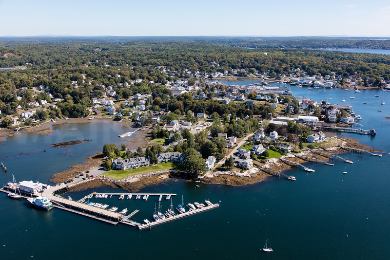 MIP AERIAL SIGNAL POINT BOOTHBAY HARBOR MAINE-6479