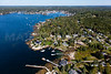 MIP AERIAL SPRUCE POINT BOOTHBAY HARBOR MAINE-6601