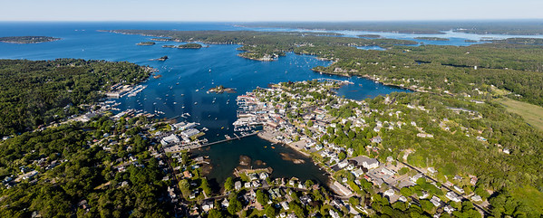 MIP AERIAL MEGA PANO 2 BOOTHBAY HARBOR MAINE-