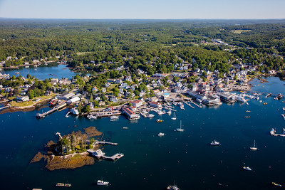 MIP AERIAL BOOTHBAY HARBOR MAINE-3498