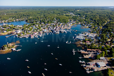 MIP AERIAL BOOTHBAY HARBOR MAINE-3501