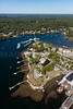 MIP AERIAL SIGNAL POINT BOOTHBAY HARBOR MAINE-6502