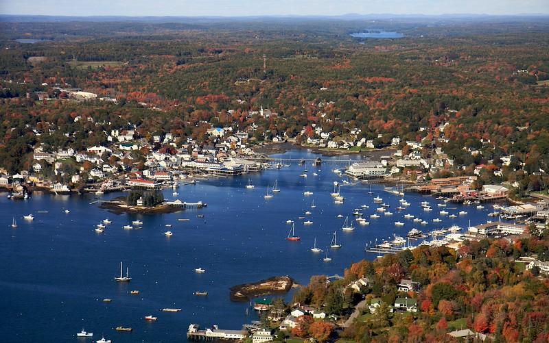 Wiscasset to Boothbay Region, Maine