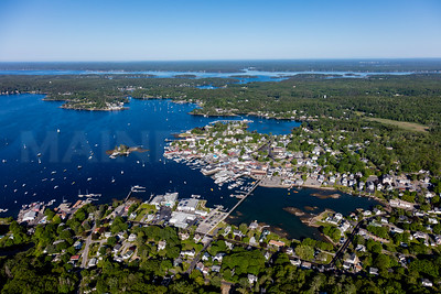MIP AERIAL BOOTHBAY HARBOR MAINE-3503