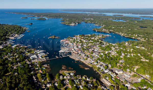 MIP AERIAL MEGA PANO 3 BOOTHBAY HARBOR MAINE-