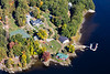 MIP AERIAL KENNEBEC RIVER CHOP POINT WOOLWICH MAINE-8633