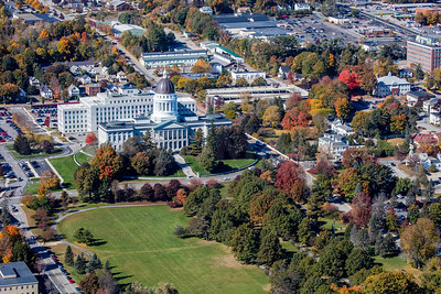 MIP AERIAL AUGUSTA STATE CAPITAL BUILDING MAINE-6750