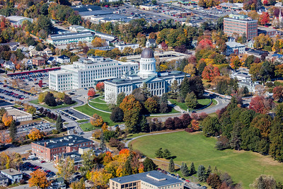 MIP AERIAL AUGUSTA STATE CAPITAL BUILDING MAINE-6747