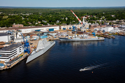 MIP AERIAL BATH IRON WORKS CHRISTENING BATH MAINE-3904