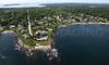 Hunts Point, Hunts Point Road.  Cape Elizabeth, Maine.