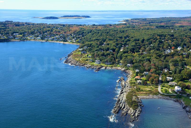 Trundy Point, Johnson Cove, Broad Cove.  Cape Elizabeth, Maine.