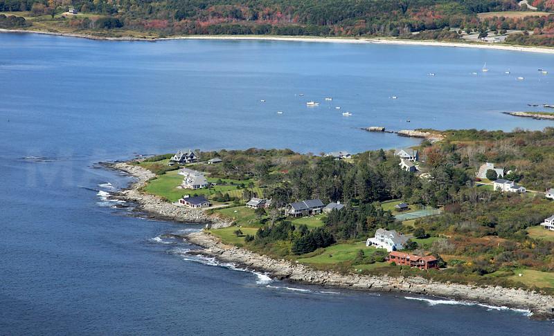 McKenney Point, Crescent Beach. Cape Elizabeth, Maine.