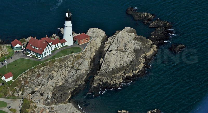 Portland Head Lighthouse 4.  Cape Elizabeth, Maine.