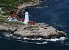 Portland Head Light.  Cape Elizabeth, Maine.