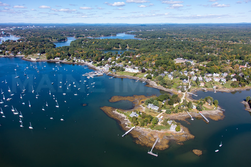 MIP AERIAL PHILLIPS ISLAND KITTERY POINT ME-3964