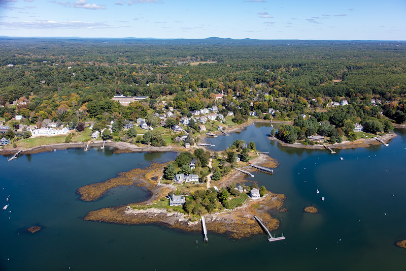 MIP AERIAL PHILLIPS ISLAND KITTERY POINT ME-3961