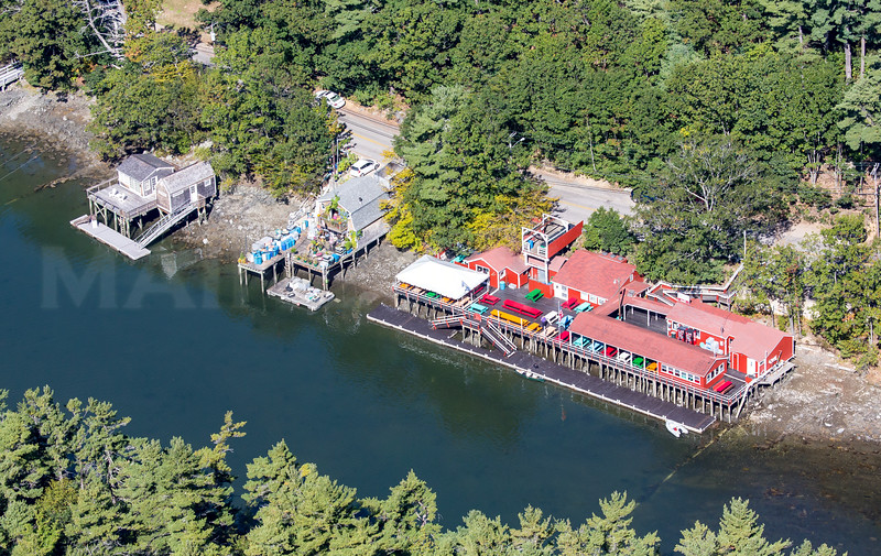 MIP AERIAL CHAUNCY CREEK LOBSTER PIER KITTERY ME-1077