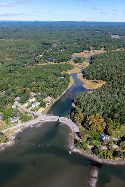 MIP AERIAL CHAUNCY CREEK KITTERY POINT ME-3969