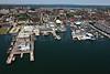 Portland Fish Pier, Cumberland Wharf, Union Wharf.  Portland, Maine.