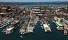 Portland Pier, Custom House Wharf, Maine Wharf, State Pier.  Portland, Maine.