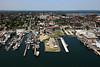 Wrights Wharf, Portland Fish Pier, Portland Waterfront.  Portland, Maine.