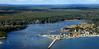 Camp Ellis, Saco River.  Saco, Maine.