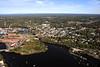 Saco Island, The Saco River, and Saco, Maine.
