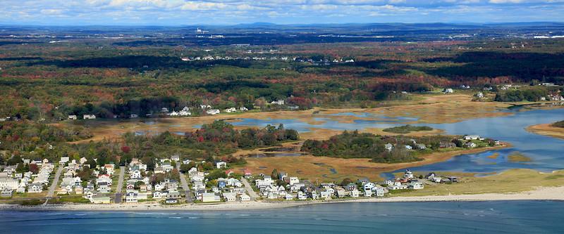 Higgins Beach.  Scarborough, Maine.