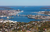 MIP AERIAL SOUTH PORTLAND CASCO BAY BRIDGE ME 102017-0768