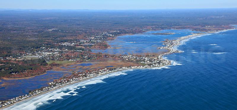 Moody Beach, Moody Point.  Wells, Maine.