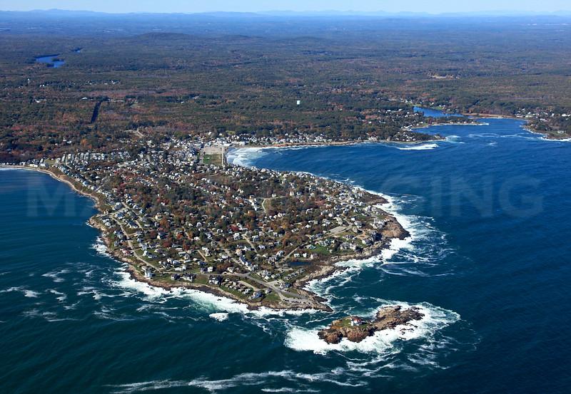 Cape Neddick Lighthouse, Concordville (Cape Neddick), York.  York, Maine.
