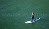 MIP AERIAL SURFERS PADDLE BOARDERS LONG SANDS BEACH YORK ME-5011