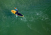 MIP AERIAL SURFERS PADDLE BOARDERS LONG SANDS BEACH YORK ME-4890