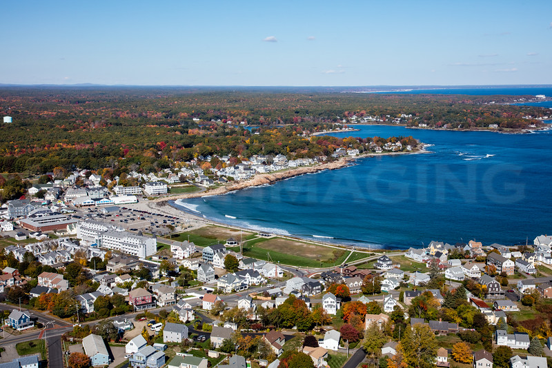 MIP AERIAL SHORT SANDS BEACH YORK ME-0604