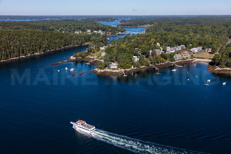 MIP AERIAL PINK LADY BOOTHBAY HARBOR MAINE-6200