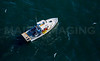 MIP AERIAL LOBSTER BOAT SHEEPSCOT RIVER MAINE-1748
